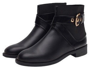 Zara Flat Fall Black Boots