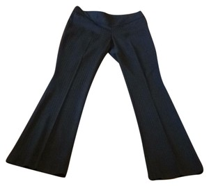 Gucci Trouser Pants Black Pinstripe