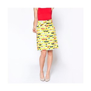 Tiffany Bean Skirt Yellow