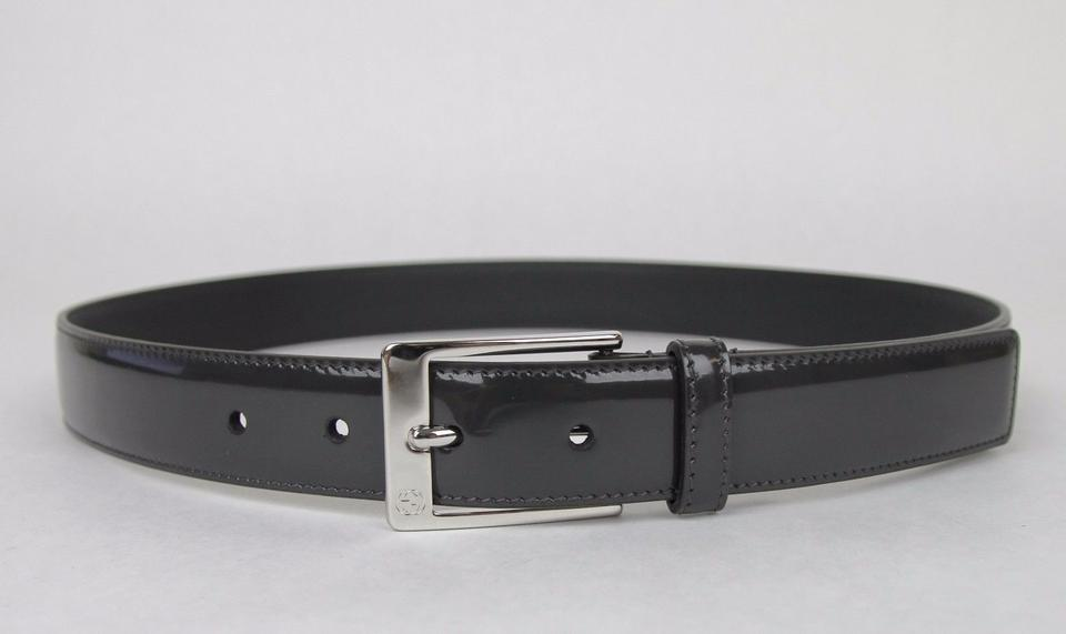 97994971619 Gucci Patent Leather Belt with Square Buckle 80 32 345658 DKE0N 1107 Image  4. 12345