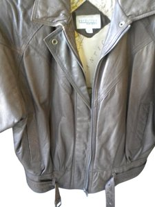 Nordstrom BROWN Leather Jacket