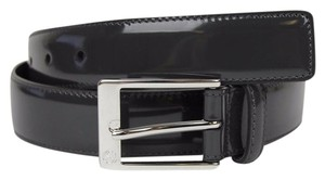 Gucci Patent Leather Belt with Square Buckle 120/48 345658 DKE0N 1107
