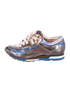 Lanvin Leather Holographic Multicolor Athletic