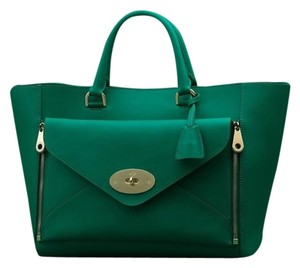 Mulberry Tote in Green