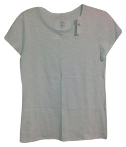 Ann Taylor LOFT T Shirt Blue Ice