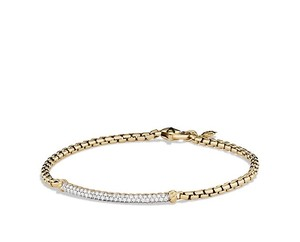 David Yurman 18k GOLD DIAMOND DAVID YURMAN BRACELET