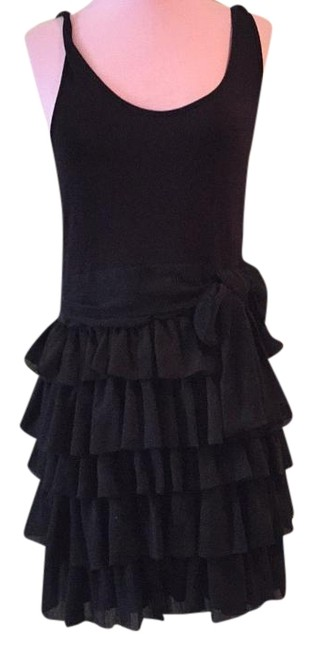 Preload https://item5.tradesy.com/images/h-and-m-black-little-knee-length-night-out-dress-size-10-m-19813704-0-1.jpg?width=400&height=650