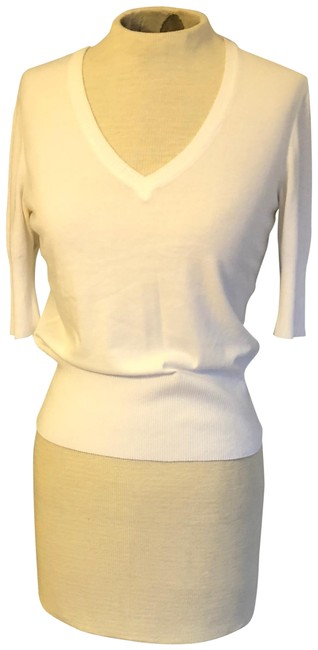 Preload https://item3.tradesy.com/images/wolford-white-ribbed-waist-sweaterpullover-size-8-m-19813707-0-3.jpg?width=400&height=650