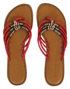 Gianni Bini Red and brown Sandals