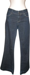 GAP Low-rise Dark Wash Limited Edition Flare Leg Jeans-Dark Rinse