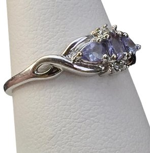Other Stunning White Gold Sapphire Diamond Ring