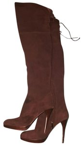 Sam Edelman Suede Over The Knee Boot High Broqn Boots