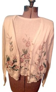 Teddi Cotton Two In One Floral Sweater
