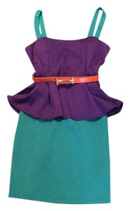 Tobi short dress Purple on Tradesy