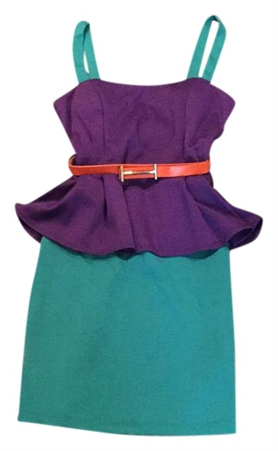 Preload https://item5.tradesy.com/images/tobi-purple-peplum-above-knee-short-casual-dress-size-4-s-19813929-0-1.jpg?width=400&height=650