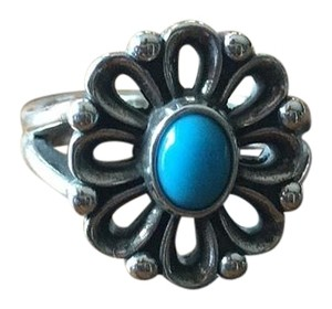 James Avery De Flores Ring With Turquoise