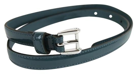 Preload https://img-static.tradesy.com/item/19814174/gucci-teal-slim-patent-leather-silver-buckle-8032-331689-4416-belt-0-1-540-540.jpg