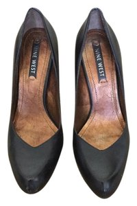 Nine West Vintage Retro Brown Pumps