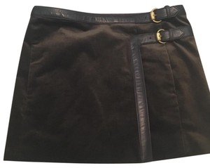 Gucci Mini Skirt Brown
