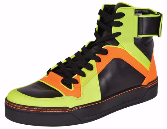Preload https://item4.tradesy.com/images/gucci-multi-color-men-s-neon-colorblock-leather-hi-top-sneakers-6-g-us-sneakers-size-us-7-regular-m--19814278-0-0.jpg?width=440&height=440