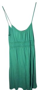 prAna short dress Green Slip Waisted Crochet Lace on Tradesy