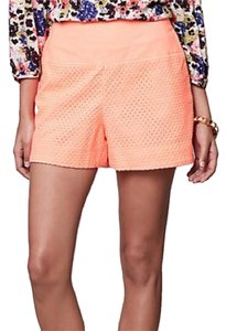 Anthropologie Dress Shorts Orange