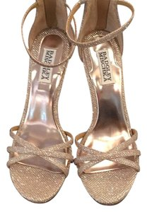 Badgley Mischka Rose Gold Formal