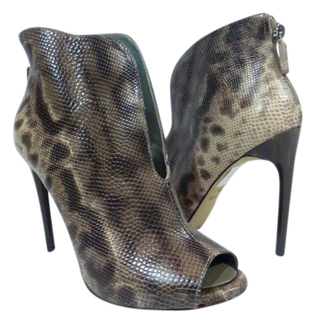 Item - Multi-color Durres Snake Effect Ankle Boots/Booties Size US 6.5 Regular (M, B)