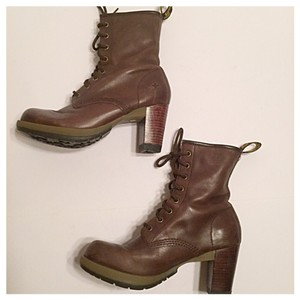 Dr. Martens Light Brown Boots