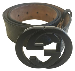 Gucci Gucci Monogram Black Belt