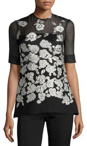 Lela Rose Dvf Isabel Marant Iro Tory Burch The Row Top Black