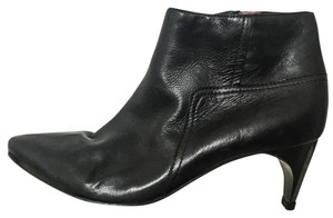 Lanvin Ankle Black Leather Boots