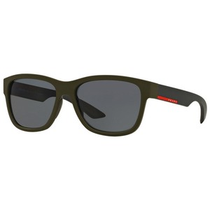 Prada Prada PS03QS-UBW5Z1 Linea Rossa 57mm Polarized Sunglasses