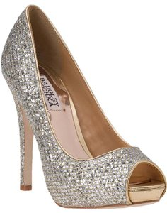Badgley Mischka Metallic Formal