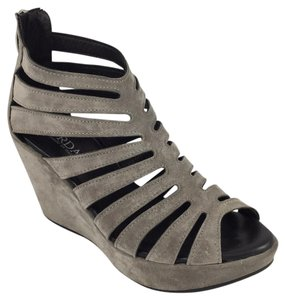 Cordani Grey Wedges