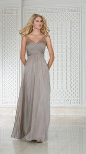 Jasmine Bridal Taupe L174002 Dress