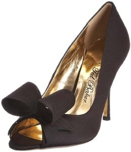 Ted Baker Evening Bow Satin Black Formal