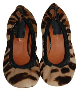 Lanvin Animal print Flats