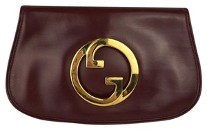 Gucci Burgundy Clutch