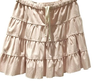 Juicy Couture Skirt Light pink and off white
