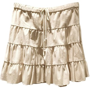 Juicy Couture Skirt Beige and off white