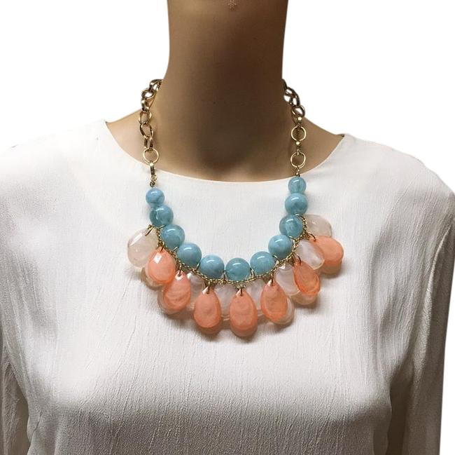 Item - Blue Gold White Ave Necklace