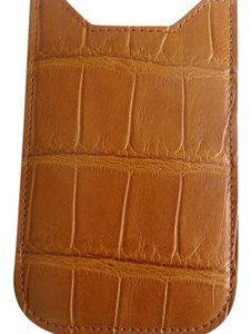 Burberry NWT Burberry Genuine Alligator Skin Phone Sleeve Case $850