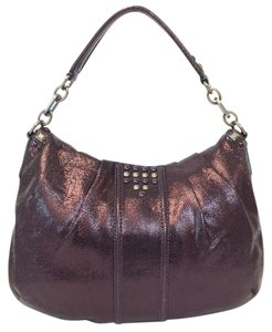 Coach Limited Studded Flap Hobo Bag