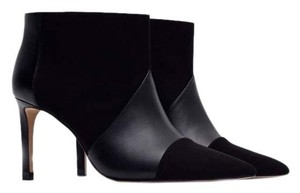 Zara Stiletto Bootie Ankle Fall Black Boots