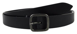 Gucci NEW Authentic GUCCI Black Leather Belt 115/46 357685 1000