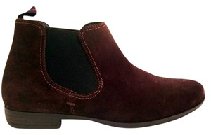 Paul Green Suede Slip-on Brown Boots