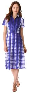 Tory Burch short dress Blue Elizabeth And James Dvf Zimmermann Alice + Olivia Lela Rose on Tradesy