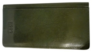 Hobo International Leather Checkbook Cover Card ID Holder Wallet