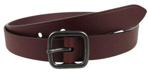 Gucci NEW Authentic GUCCI Burgundy Leather Belt 100/40 357685 6123